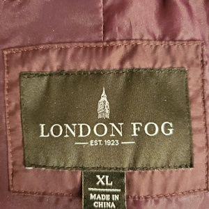 London Fog Jackets & Coats - London Fog Down Puffer Parka with faux Fur Hood